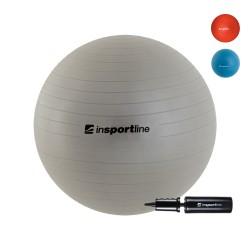 Gimnastikos Kamuolys InSPORTline Top Ball 85 cm, Pilkas