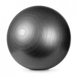 Gimnastikos Kamuolys Meteor, 75 cm Su Pompa, Juodas
