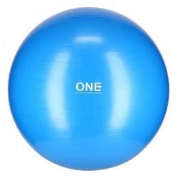 Gimnastikos Kamuolys One Fitness 10 Mėlynas - 65 Cm