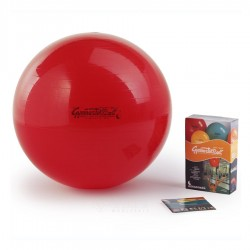 Gimnastikos kamuolys Original Pezzi 75 cm Red