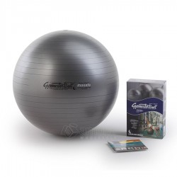 Gimnastikos kamuolys Original Pezzi Gymnastik Ball Maxafe 53 cm Black