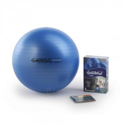 Gimnastikos kamuolys Original Pezzi Gymnastik Ball Maxafe 65 cm Blue