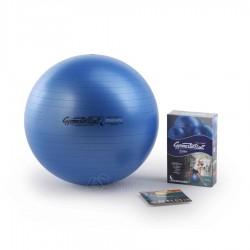 Gimnastikos kamuolys Original Pezzi Gymnastik Ball Maxafe 65 cm Blue su pompa
