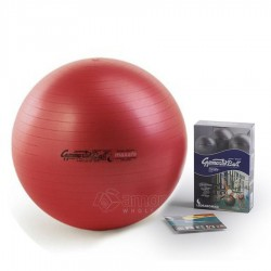 Gimnastikos kamuolys Original Pezzi Gymnastik Ball Maxafe 65 cm Red