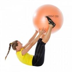 Gimnastikos kamuolys Original Pezzi Maxafe 65 cm Juodas