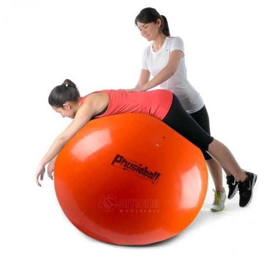 Gimnastikos Kamuolys Original PEZZI Physioball 120cm, Oranžinis