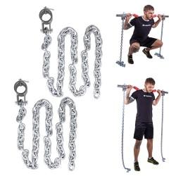 Grandinė svorių kėlimui inSPORTline Chainbos 2x15kg