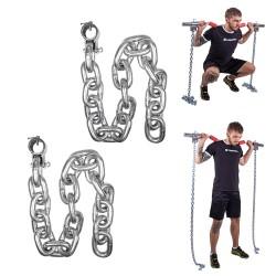 Grandinė svorių kėlimui inSPORTline Chainbos 2x20kg