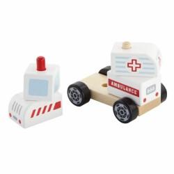 Greitosios Pagalbos Automobilis Viga Wooden