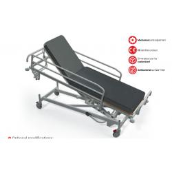 Hidraulinis gulinčio ligonio transportavimo vežimėlis su Trendelenburgo funkcija TSHT