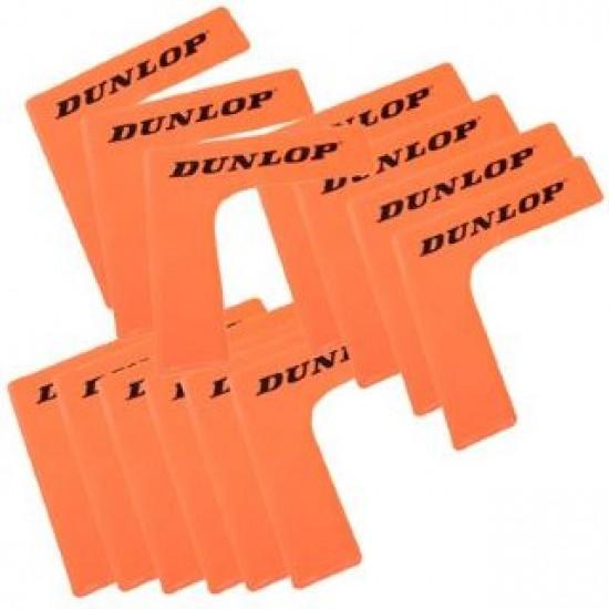 Kampai teniso kortui DUNLOP (16 vnt.)