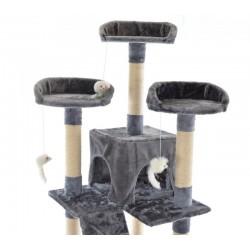 Katės namas - draskyklė CAT608, pilkos spalvos