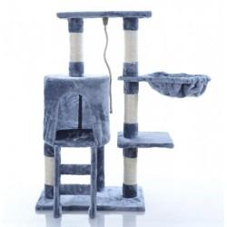 Katės namas - draskyklė KMB004A, pilkos spalvos