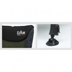 Kėdė DAM CamoVision Easy Fold  Chair With Armrests Alu