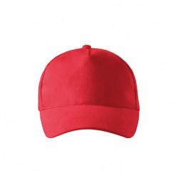 Kepurė ADLER 5P, Raudona