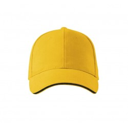 Kepurė ADLER 6P Sandwich, Geltona