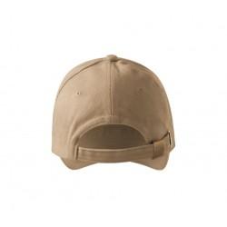 Kepurė ADLER 6P Sandwich, Smėlio Spalvos