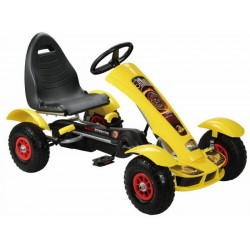 Keturratis Go-Kart F618, geltonas (4-10 metų)