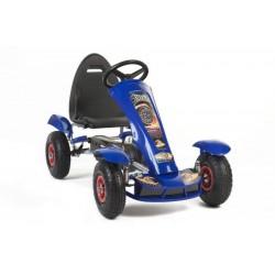 Keturratis Go-Kart F618, mėlynas (4-10 metų)