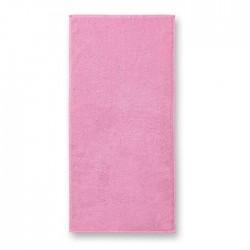 Kilpinis Rankšluostis Malfini Pink 50x100cm.