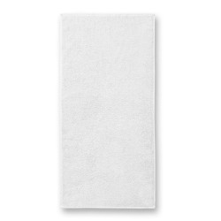 Kilpinis Rankšluostis Malfini White 50x100cm.