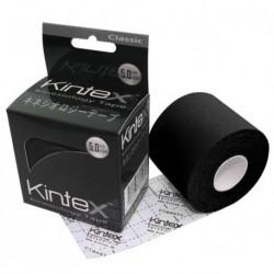 Kineziologinis Teipas Kintex Classic 5cmX5m, Juodas