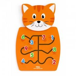 ''Kitten Viga Toys'' medinis žaislas