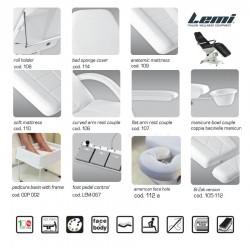 Kosmetologinis krėslas - kušetė Lemi 4