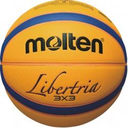 Krepšinio kamuolys Molten B33T5000 FIBA outdoor 3x3