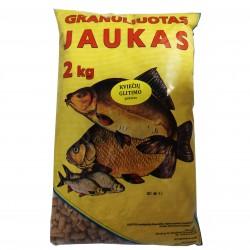 Kviečių glitimo pašaras (Granuliuotas)  2kg.
