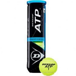 Lauko teniso kamuoliukai Dunlop Championship 4 vnt