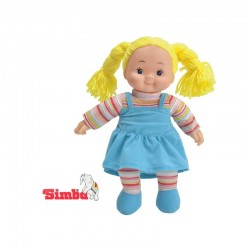Lėlytė Simba Doll Chubby Ruffle Blue Mėlyna Suknelė