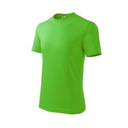 Marškinėliai ADLER Basic Apple Green, vaikiški
