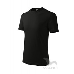 Marškinėliai ADLER Basic Juodi, Vaikiški