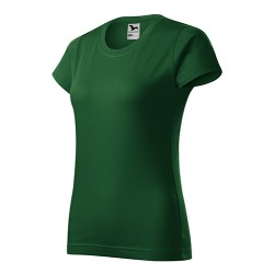 Marškinėliai ADLER Basic Bottle Green, moteriški