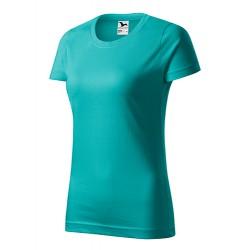 Marškinėliai ADLER Basic Emerald, moteriški