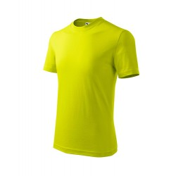 Marškinėliai ADLER Basic Lime Punch, vaikiški