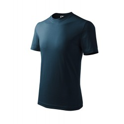 Marškinėliai ADLER Basic Navy Blue, vaikiški