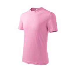 Marškinėliai ADLER Basic Pink, vaikiški