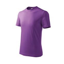Marškinėliai ADLER Basic Purple, vaikiški