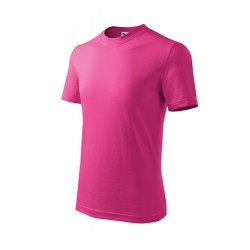 Marškinėliai ADLER Basic Rasberry Pink, vaikiški
