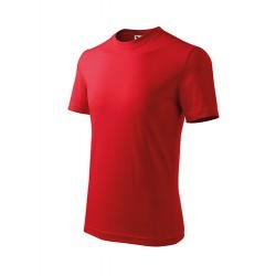 Marškinėliai ADLER Basic Red, vaikiški