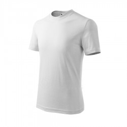 Marškinėliai Adler Basic Balti, Vaikiški