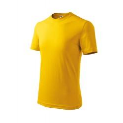 Marškinėliai ADLER Basic Yellow, vaikiški