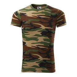 Marškinėliai ADLER, Kamufliažinė ruda