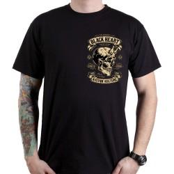 Marškinėliai BLACK HEART Devil Skull