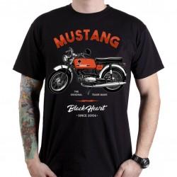 Marškinėliai BLACK HEART Mustang