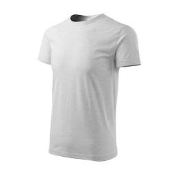Marškinėliai Heavy New 137 Unisex Ash Melange