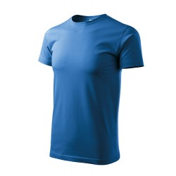 Marškinėliai Heavy New 137 Unisex Azure Blue