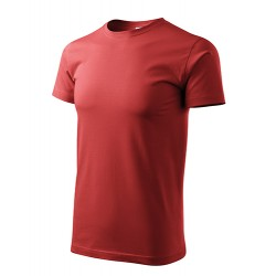 Marškinėliai Heavy New 137 Unisex Burgundy